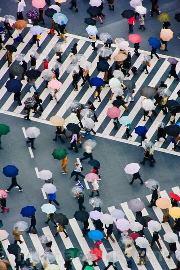 Shibuya Crossing Fonte: Pinterest.