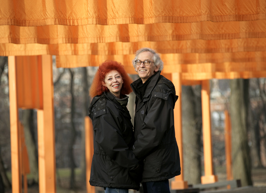 Christo and Jeanne-Claude 2005. Fonte: