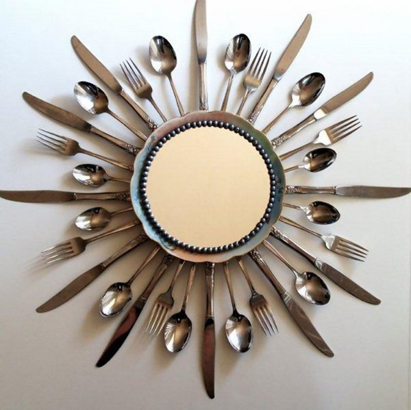 creative-upcycling-ideas-cutlery-ideas-wall-decoration