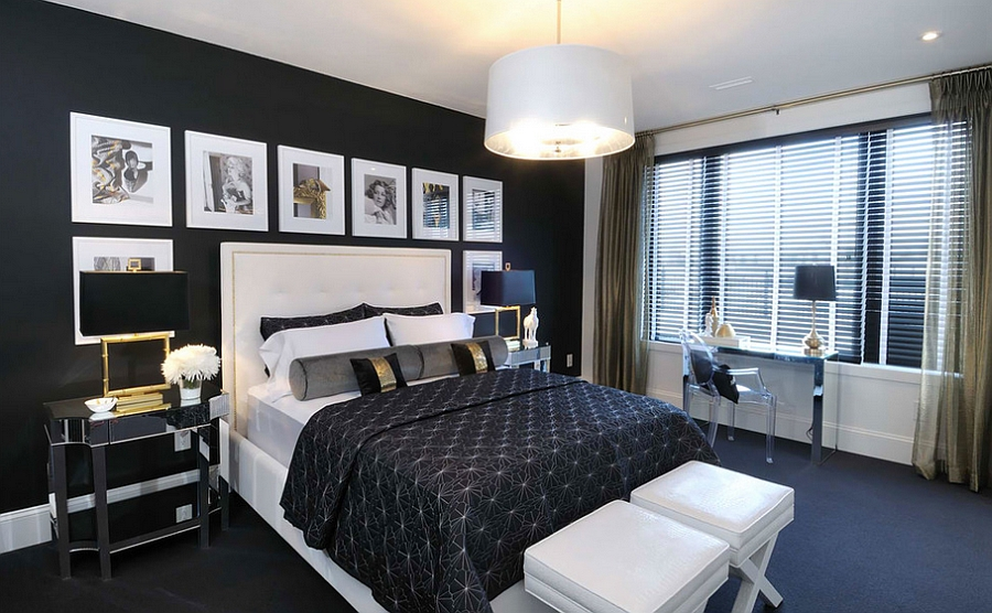 Black-with-a-hint-of-gold-in-the-bedroom (1)
